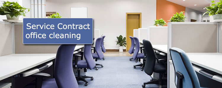Service contract office cleaning
